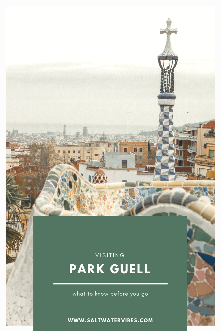 Visiting the Sagrada Familia and Park Guell | SaltWaterVibes