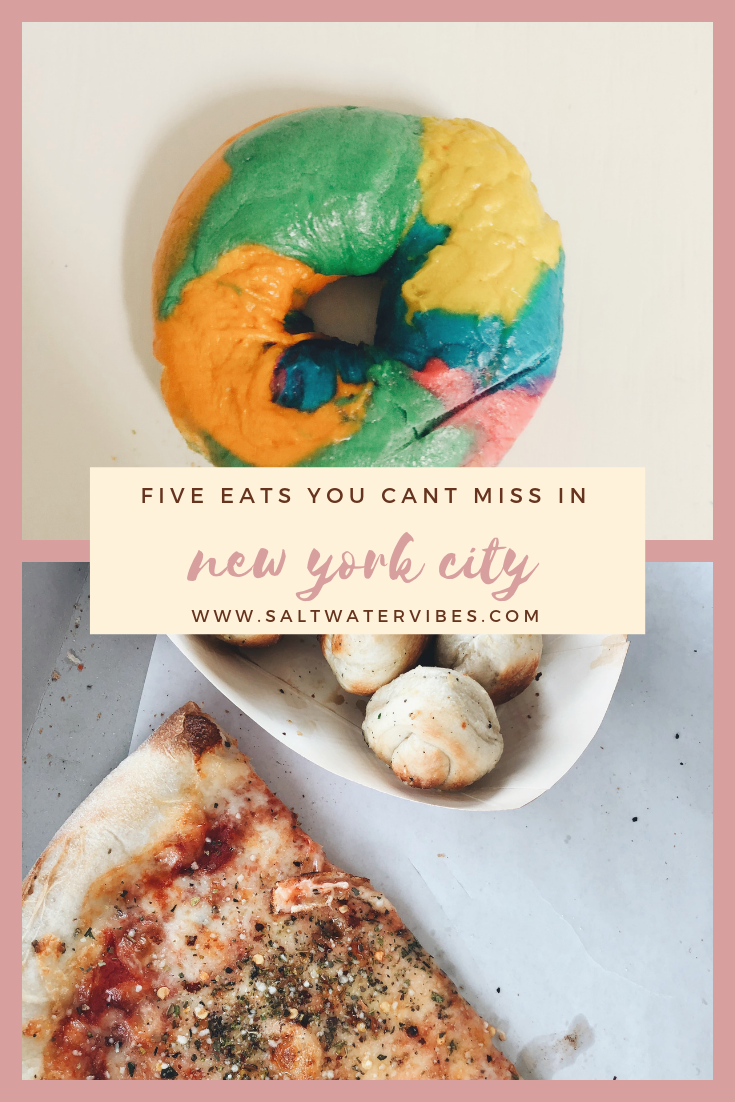 Five Eats You Can't Miss In New York | SaltWaterVibes