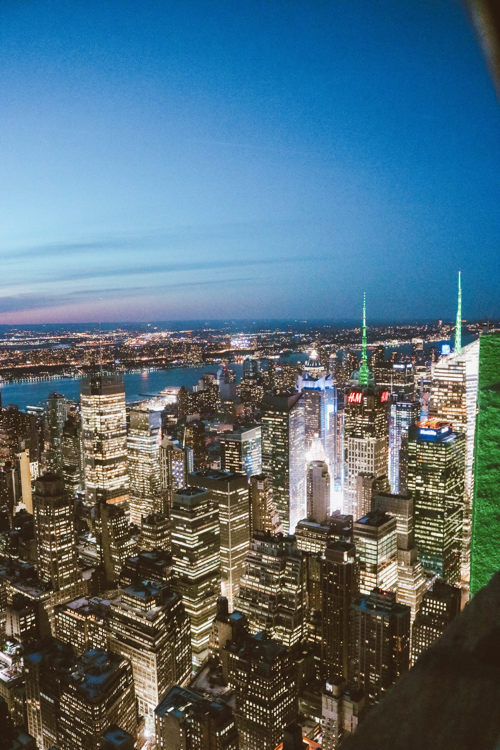 Five Best Places to See NY Skyline   Friday Five   SaltWaterVibes