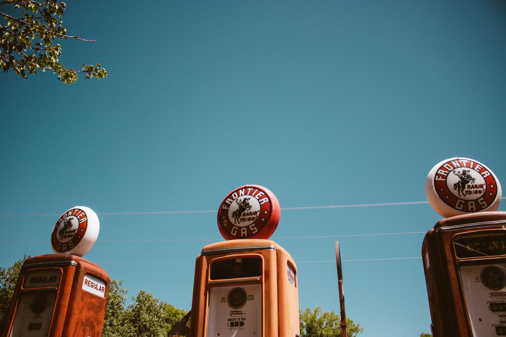 Old Gas Station Museum New Mexico | SaltWaterVibes