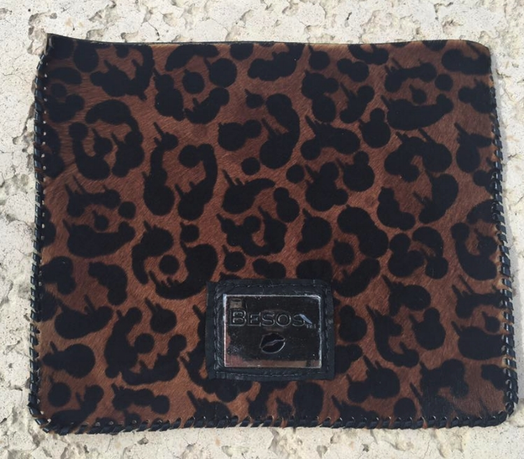 Hair on Calf Hide, Leopard print