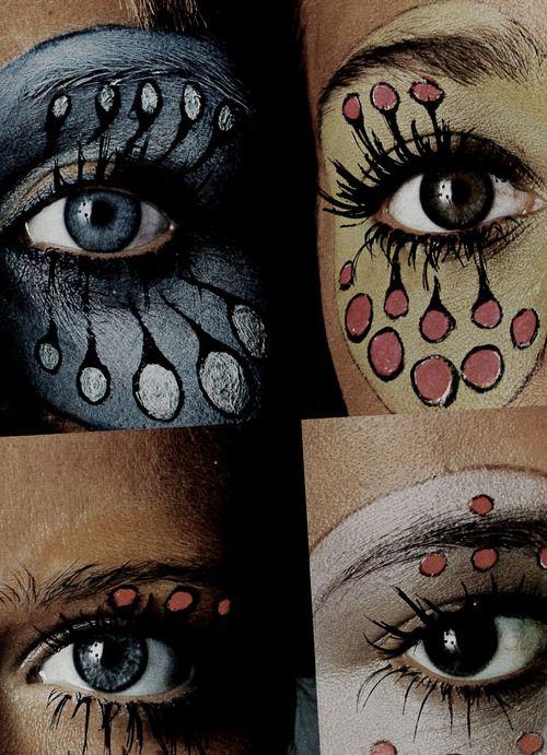 1969 Vogue Italia showing eye designs