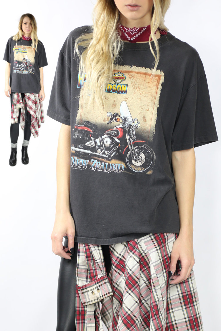 1991 Vintage Harley Davidson Tee from  Village Collection
