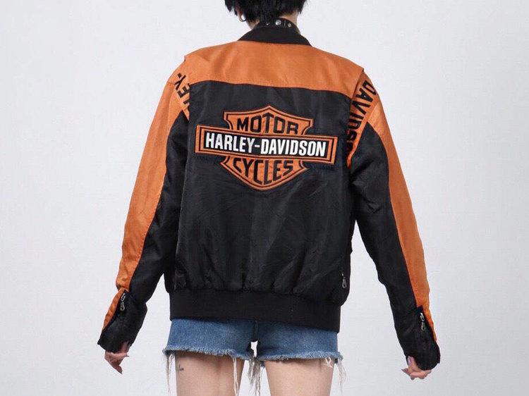 Old School Harley Davidson Motor Cycles Bomber Jacket from  Shop Get Rekt