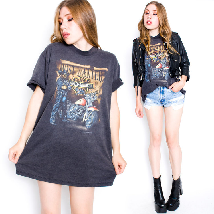 90s Harley Tshirt from  Nothing on TV