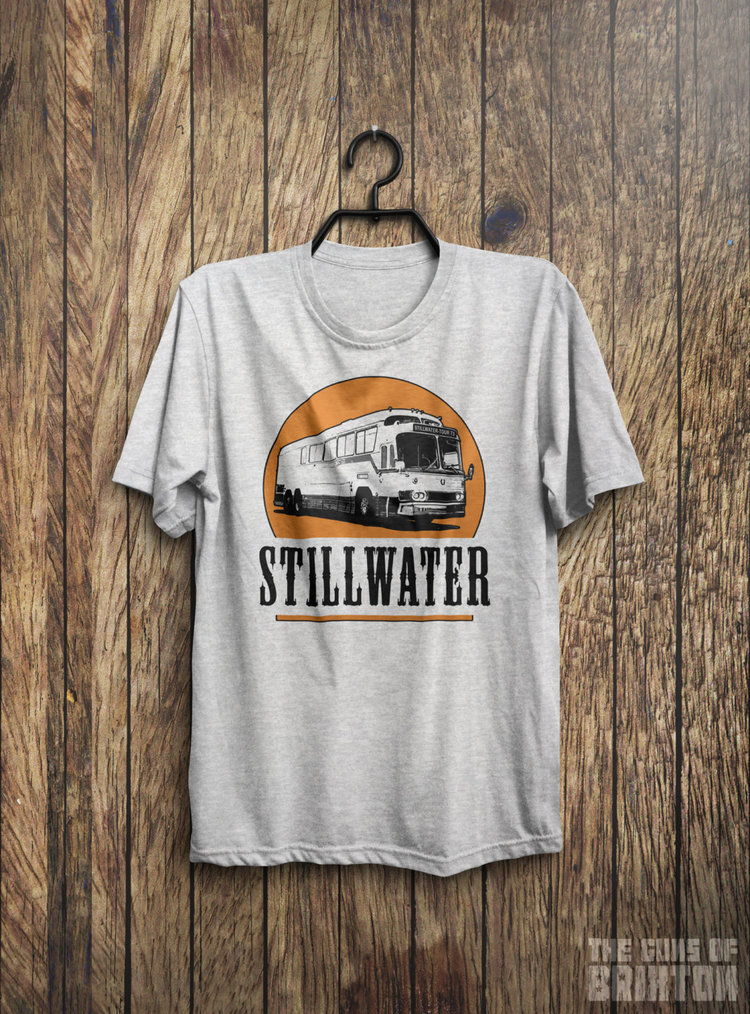Stillwater Band Tour Tshirt from  The Guns of Brixton 1979