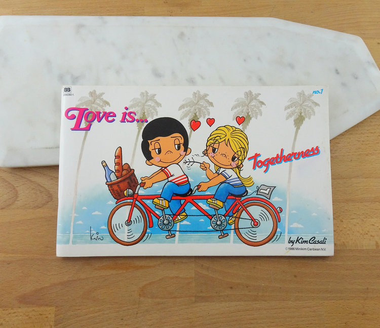 Love Is ... Togetherness 80s Comic Book from  Green Kitten Vintage