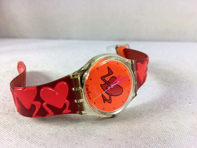 Swatch Watch Pounding Heart Edition from  Minas Treasure Chest