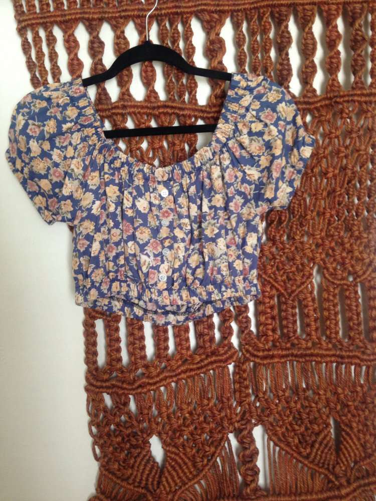Floral Peasant Blouse from  Lonely Moon Child
