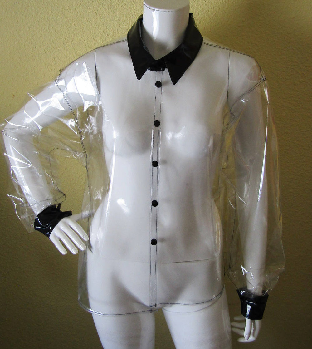 Clear Plastic Shirt from Anadin Crafts