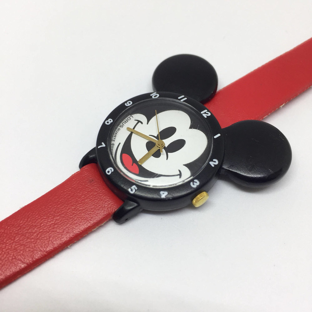 Mickey Mouse Big Ears Watch from the late 80s / 90s by Lorus