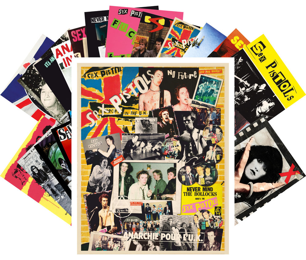 Punk Rock Postcard Pack