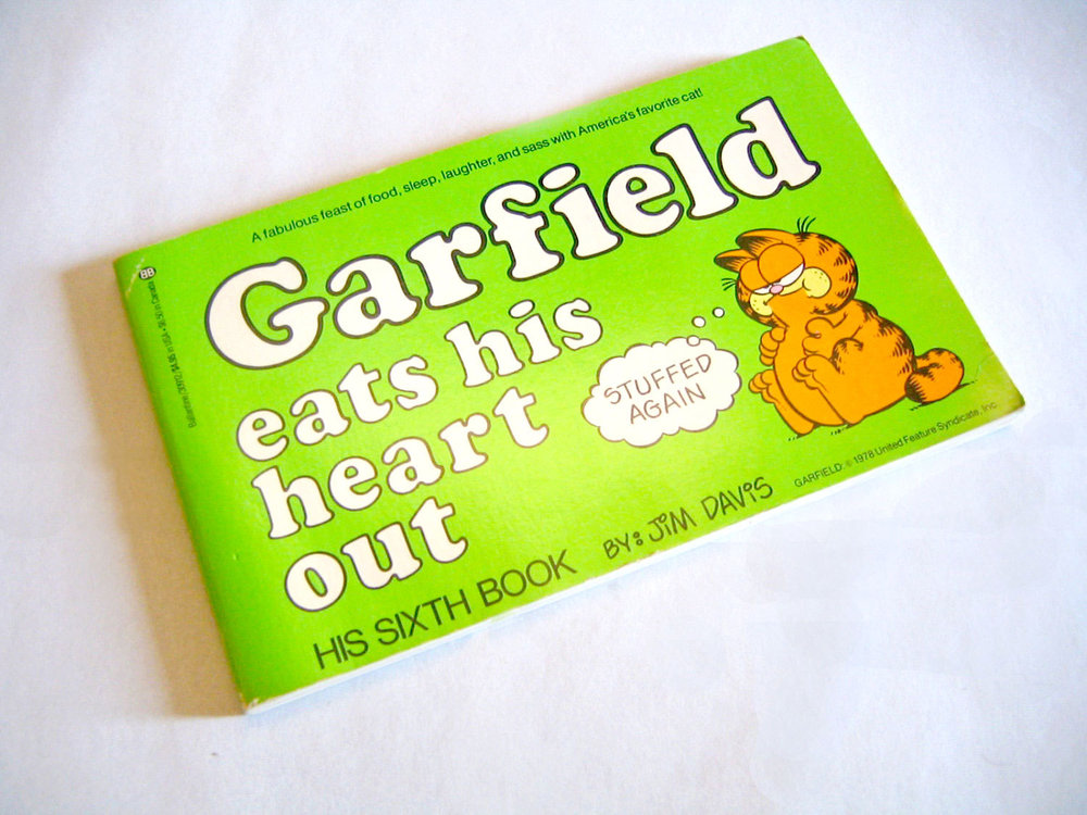 Garfield Eats His Heart Out by Jim Davis Comic Book from  Archive Brooklyn