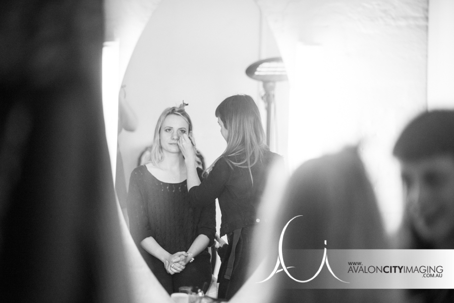 Behind the scenes of the incredible Mandy Nash working her magic on one of our amazing clients