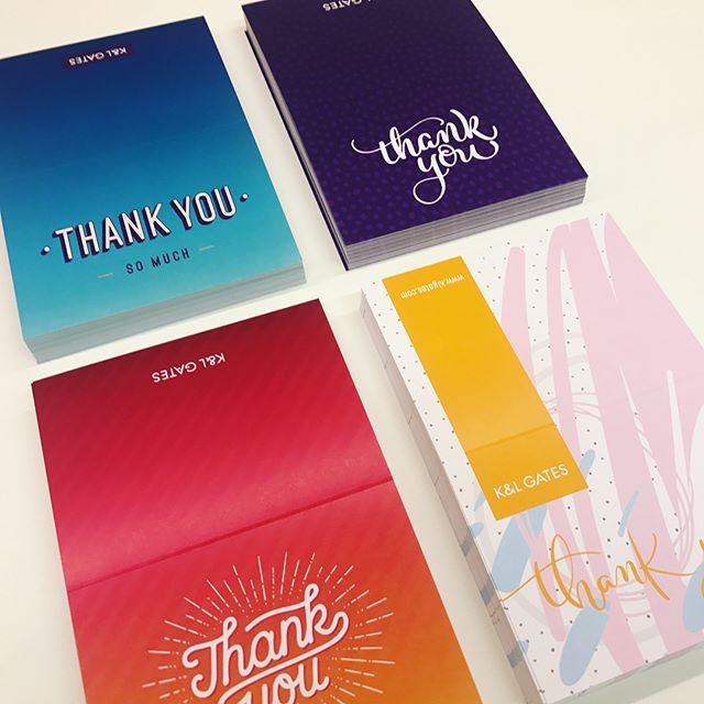 Hot of the press 🙌🏼👏🏼 #thankyou #printdesign