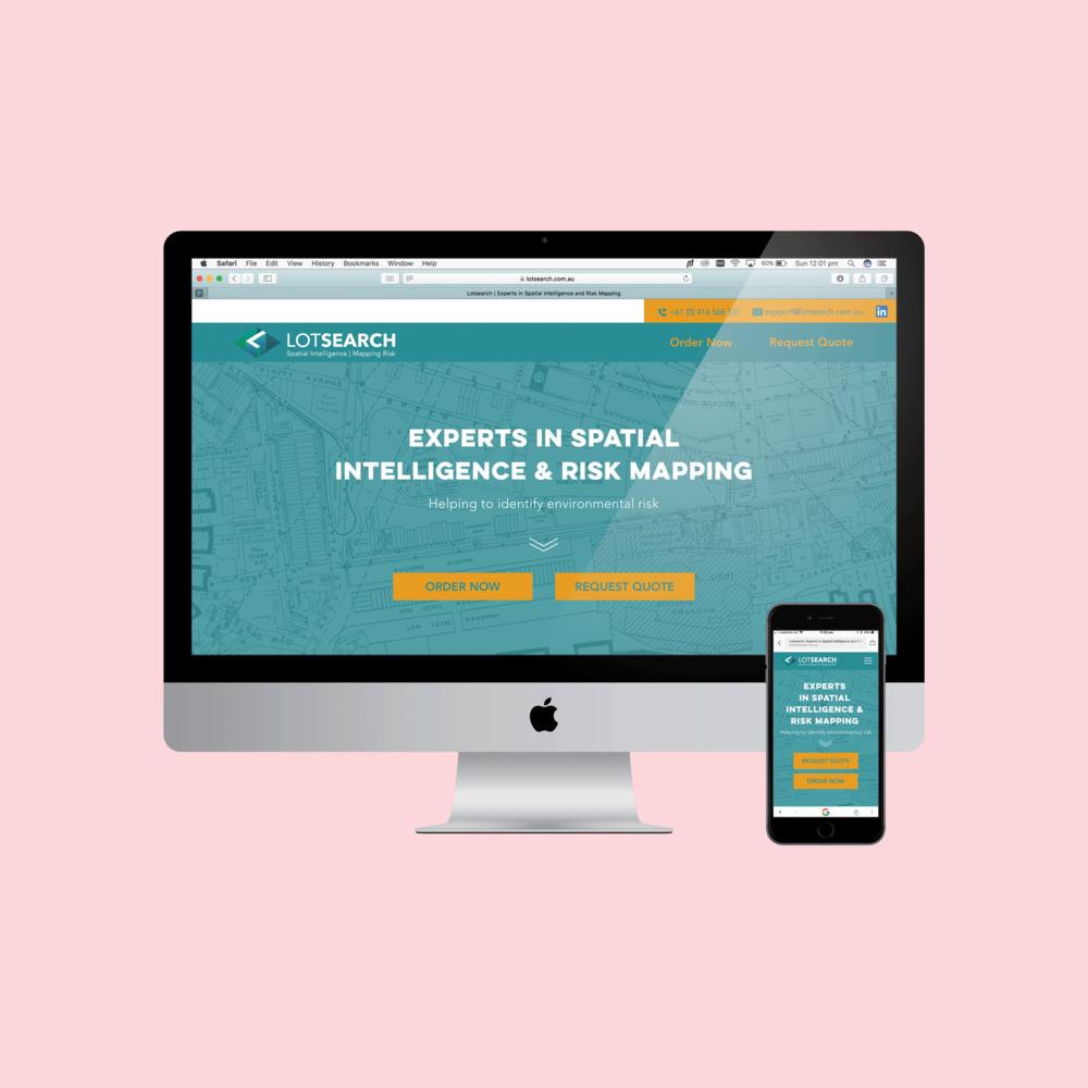 LotsearchUX/UI Web & Brand IdentityDesign -