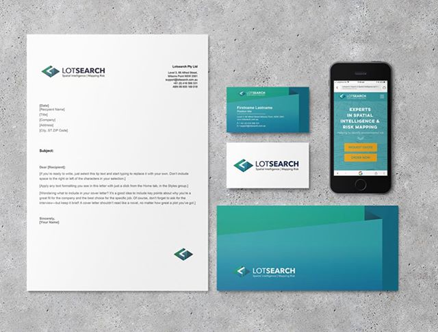 FRESH FACE FOR LOTSEARCH 🙏🏽 So pumped to launch this little package 📦 #webdesign #mobiledesign #rebrand