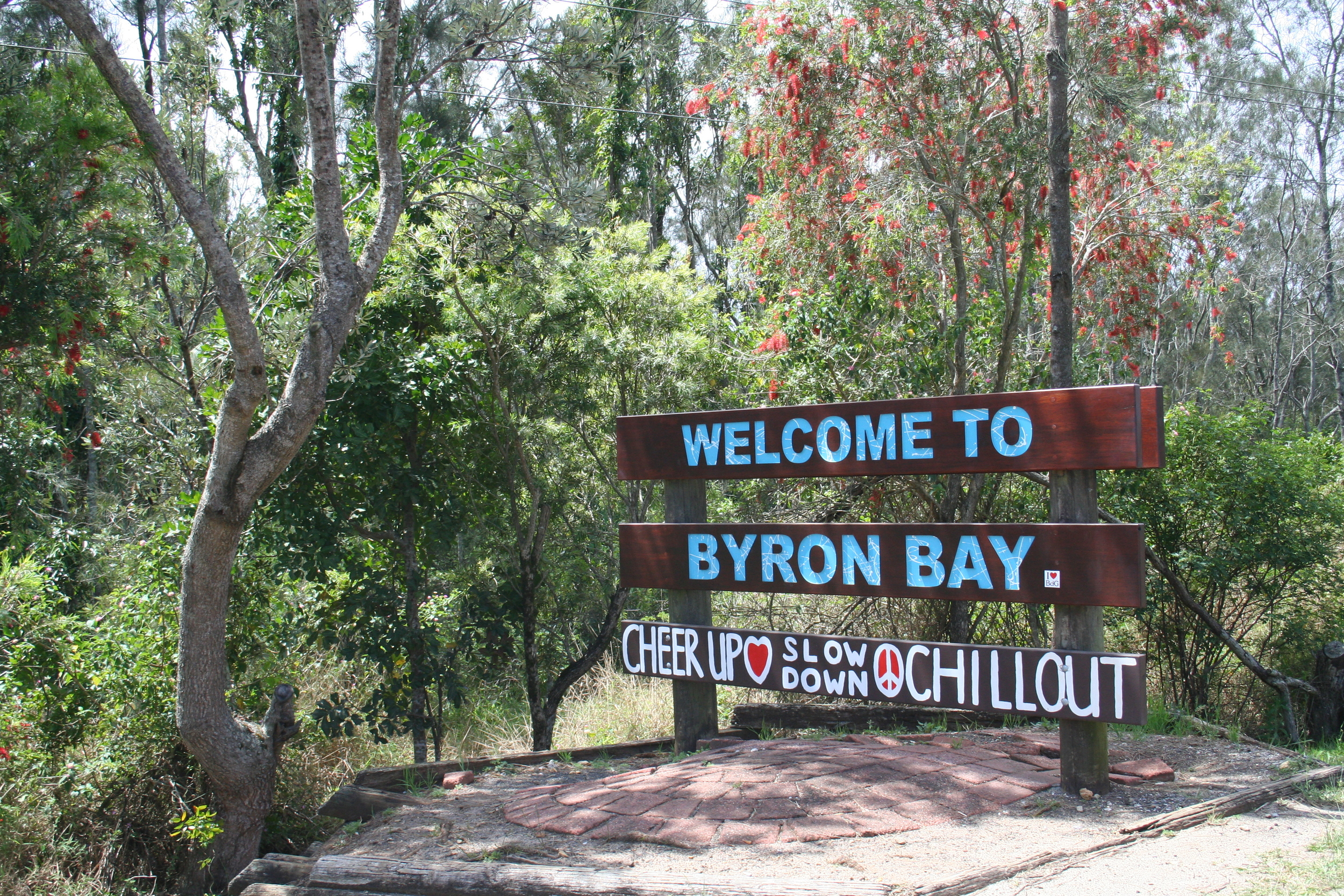 Byron Bay - Cheer up, slow down, chill out!