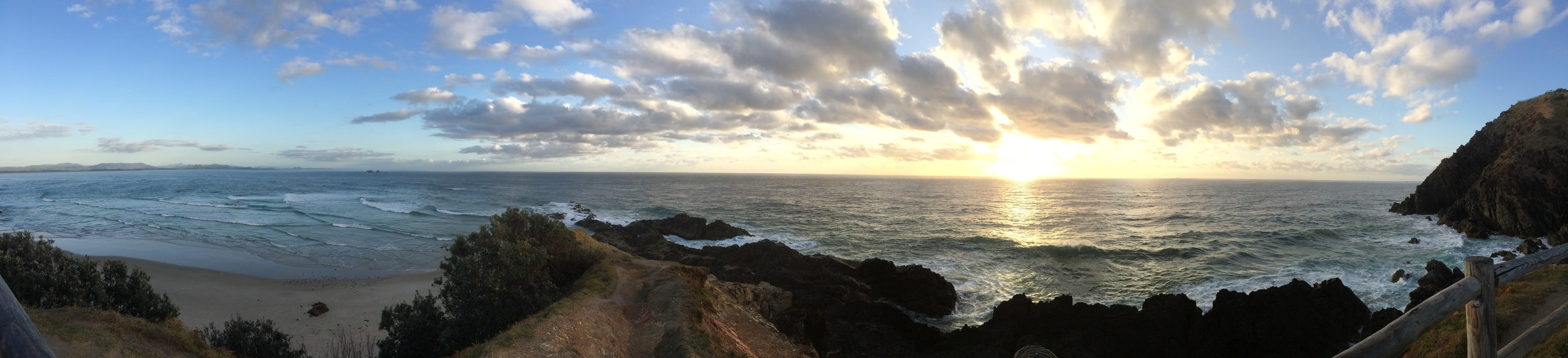 Sunrise at Byron Bay Lighthouse