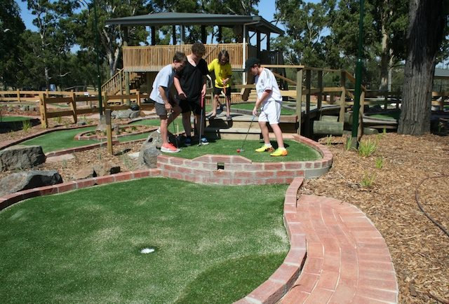 Yarra Bend's mini golf facility