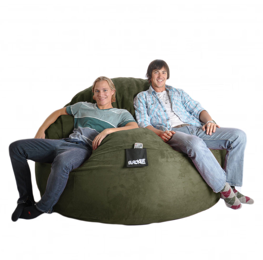 Olive Microsuede 6R.jpg  sc 1 th 223 : slacker bean bag chairs - Cheerinfomania.Com