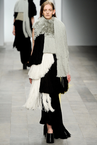 Charlotte Smith, Central Saint Martin, Fall 2011 RTW.