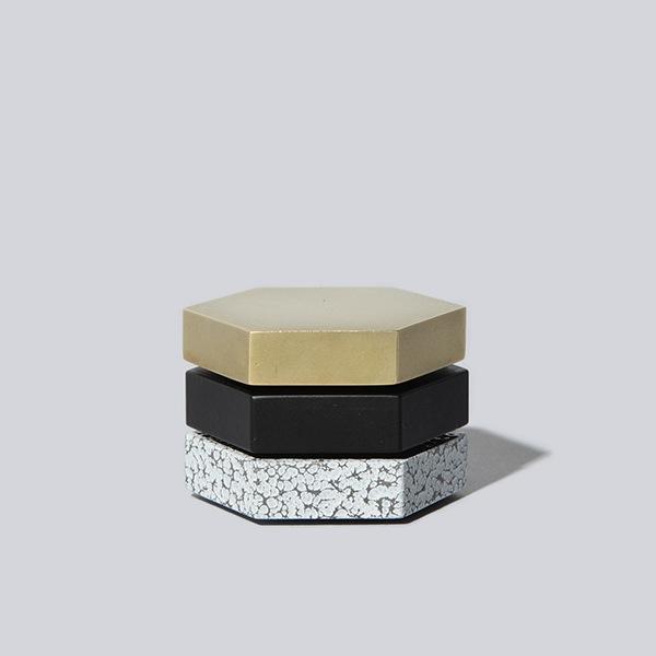 Lacoli & McAllister hexaon brass black g