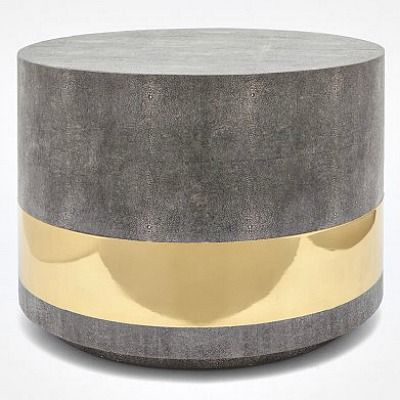 Made goods concrete brass round