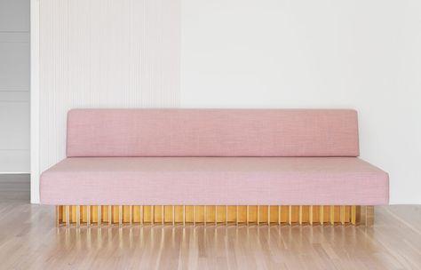 Brook&Lyn aka early work pink sofa