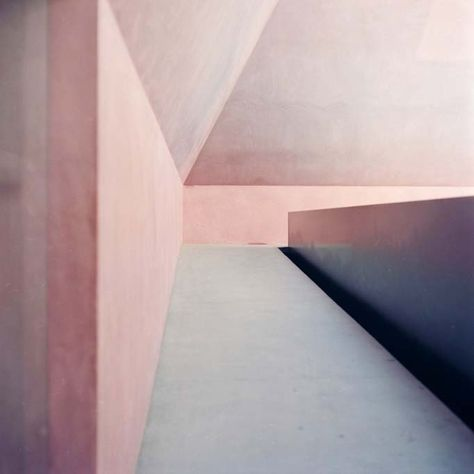 James Turrell pink pastel