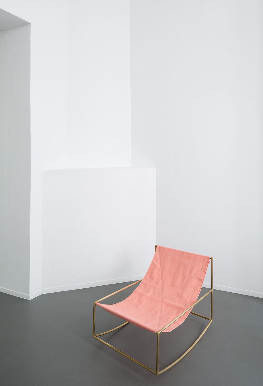 Muller Van Severen pink chair