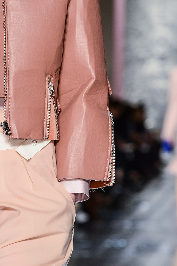 Acne, Fall 13 pink jacket