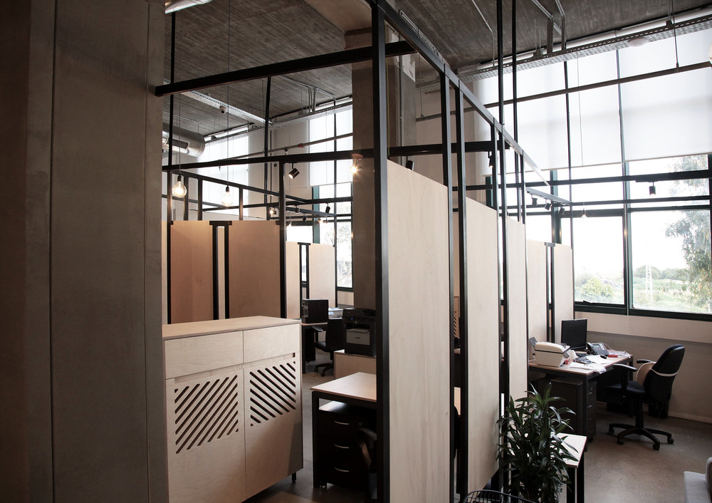Office wood dividers