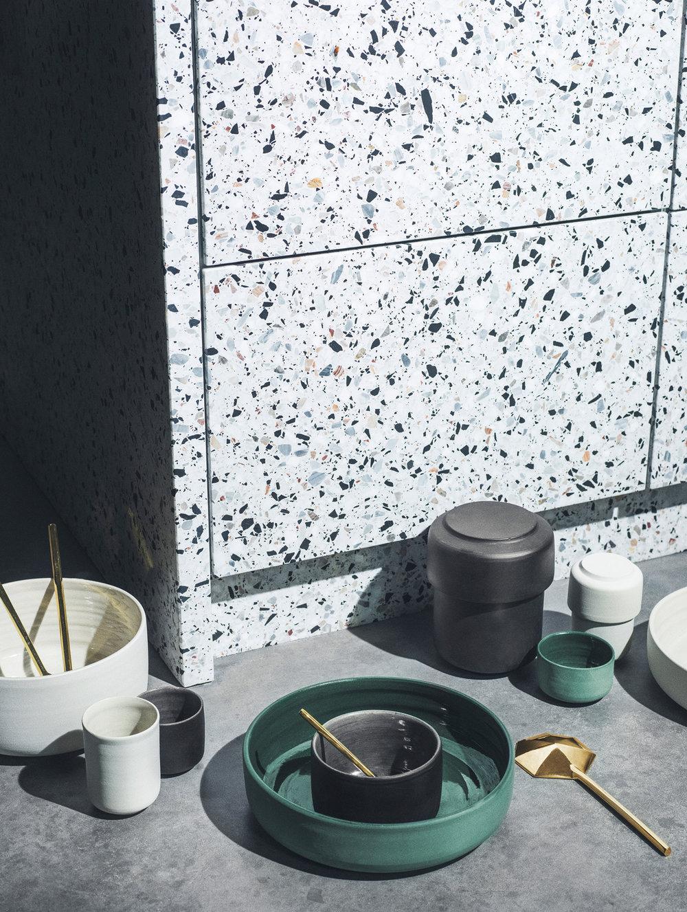 David Thulstrup Terrazzo kitchen details
