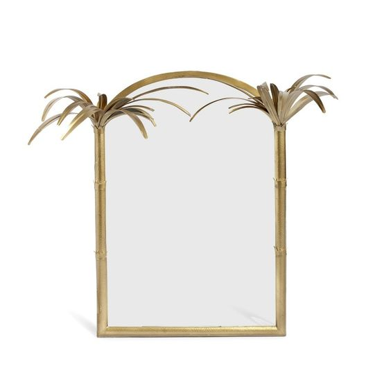 palm mirror frame