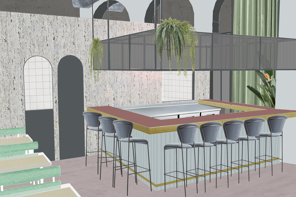A concept restaurant in Tel Aviv-Jaffa,  Under construction