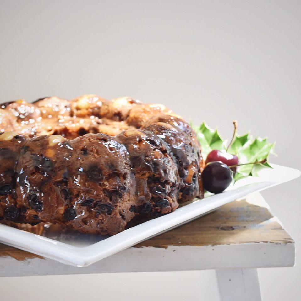 Teresa Cutter - Healthy Christmas Cake!