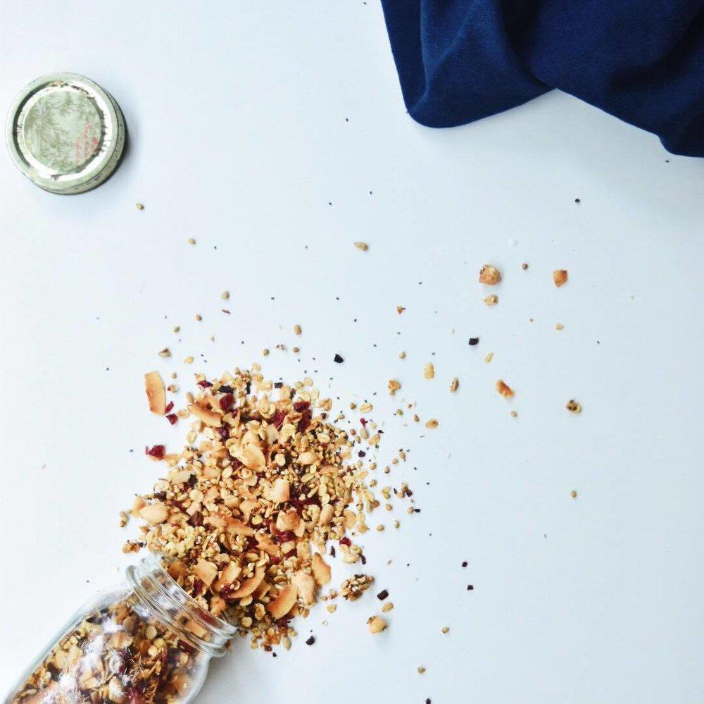Cinnamon and Cranberry Granola