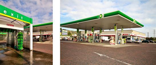 Carrick Milestone, Petrol Station..