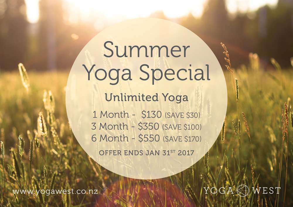 Unlimited Summer Yoga Special