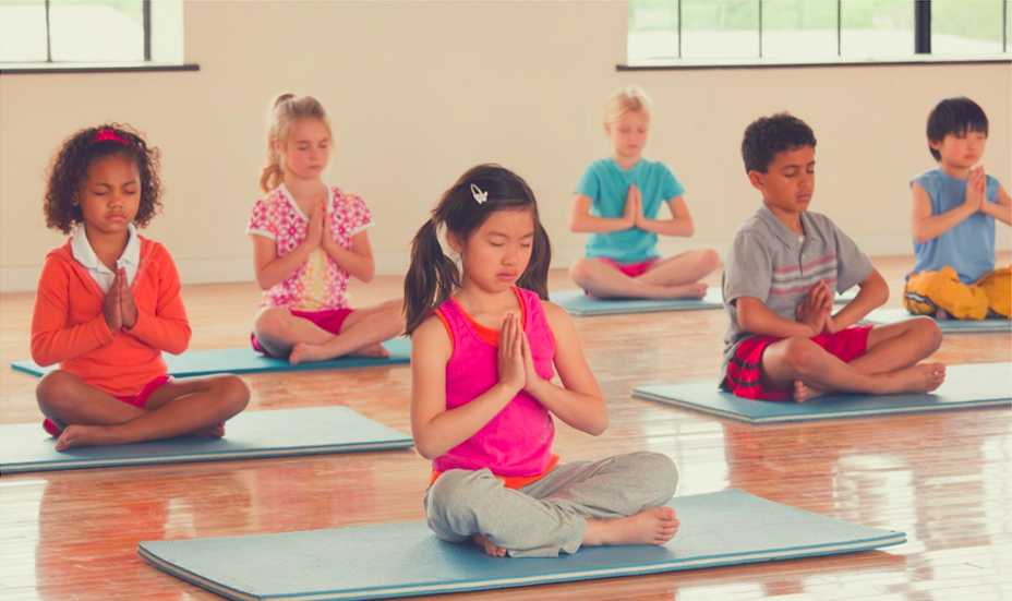 Kids yoga at yoga west