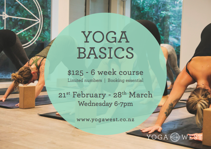 Yoga Basics 21 Feb 2018