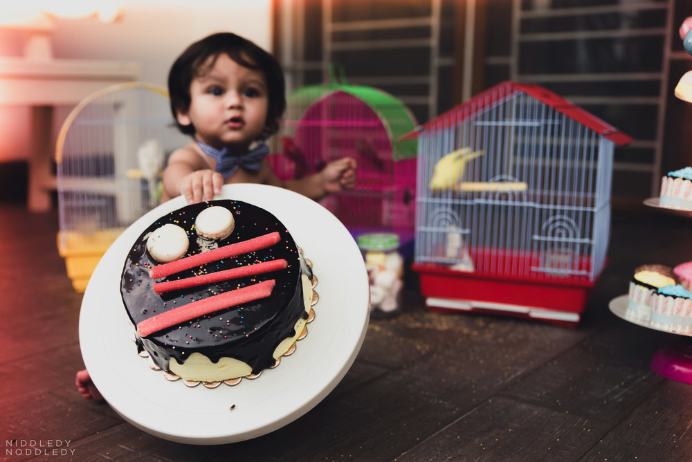 Avyaan Birthday Smash Cake Photoshoot ❤ NiddledyNoddledy.com ~ Bumps to Babies Photography, Kolkata - 01.jpg