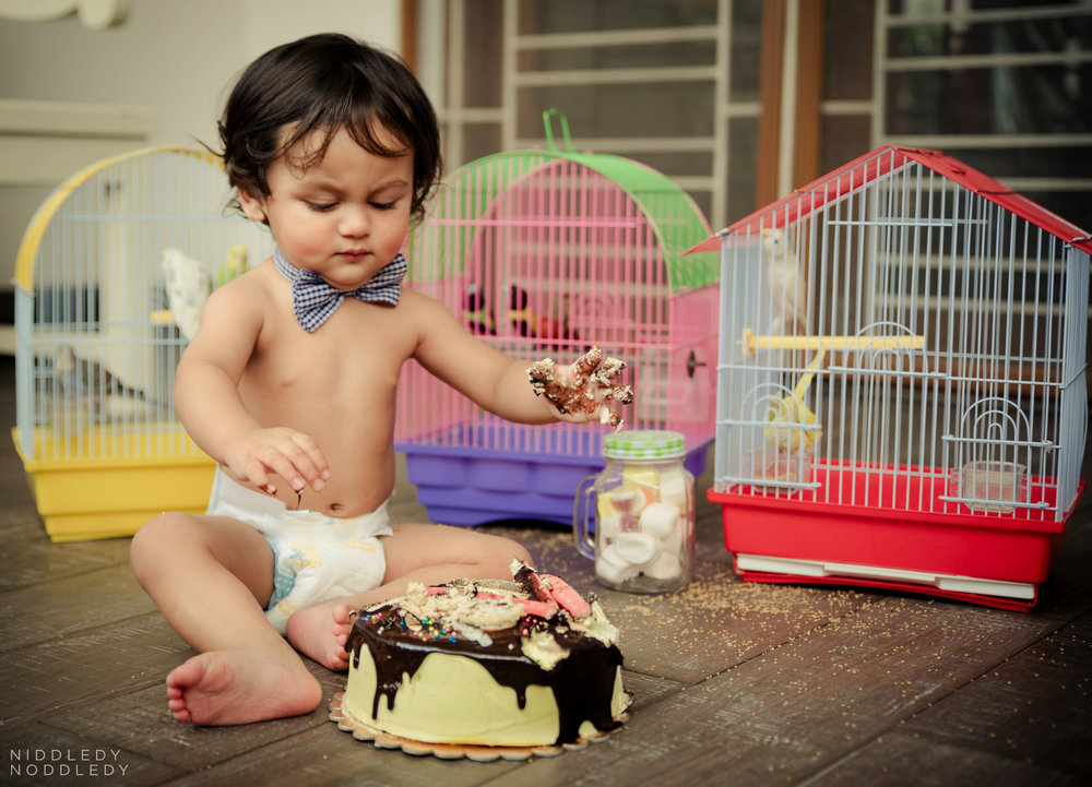 Avyaan Birthday Smash Cake Photoshoot ❤ NiddledyNoddledy.com ~ Bumps to Babies Photography, Kolkata - 04.jpg
