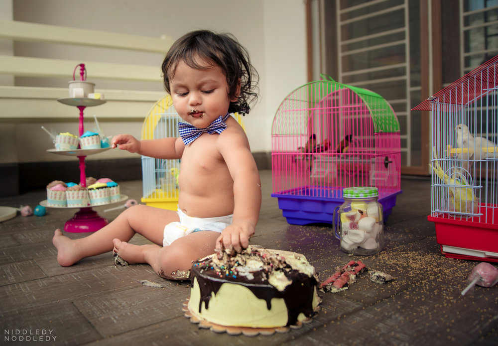 Avyaan Birthday Smash Cake Photoshoot ❤ NiddledyNoddledy.com ~ Bumps to Babies Photography, Kolkata - 07.jpg