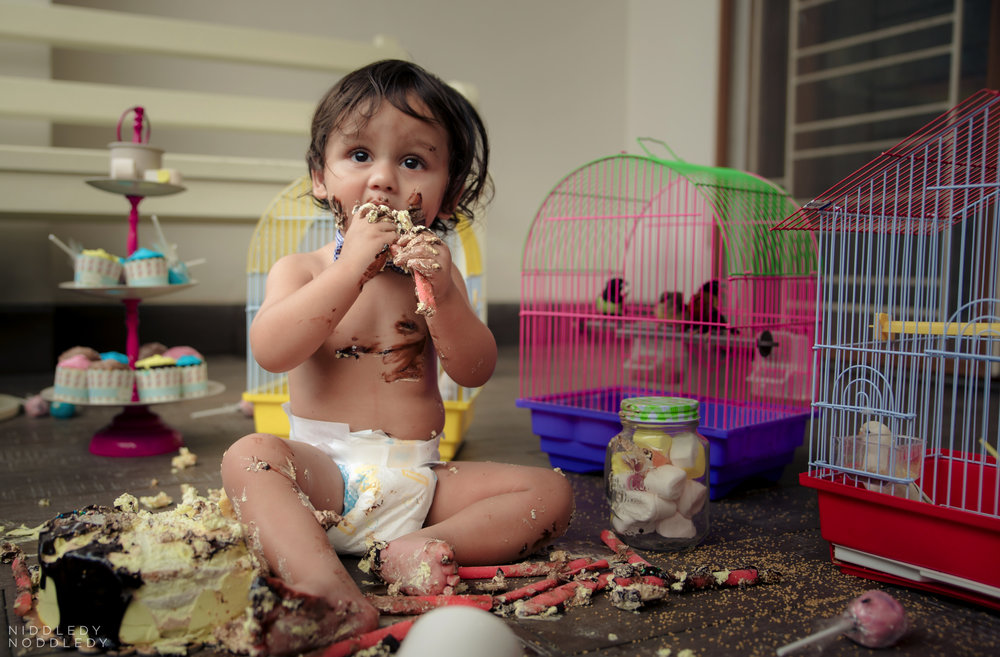 Avyaan Birthday Smash Cake Photoshoot ❤ NiddledyNoddledy.com ~ Bumps to Babies Photography, Kolkata - 15.jpg