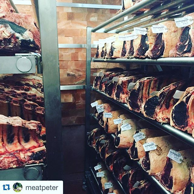 #Repost @themeateater ・・・ Salt chamber looking good. P.