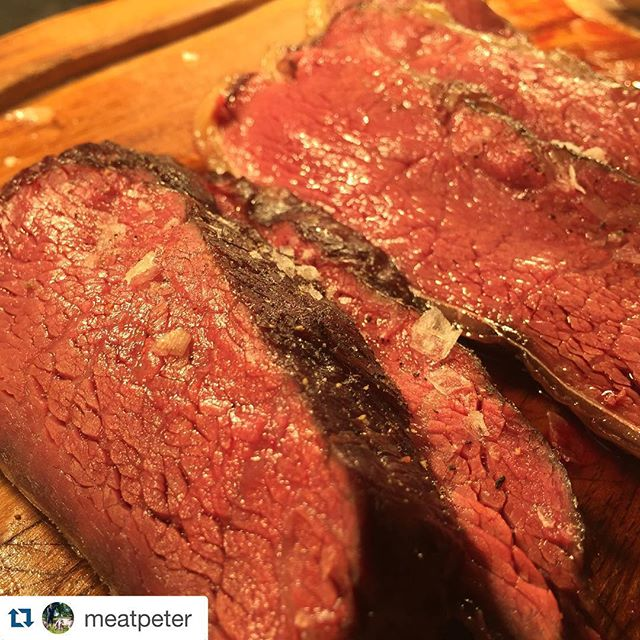 #Repost @meatpeter ・・・ This is more of @andreldeluca Picanha cooked to perfection. Everything he does is perfection ! P