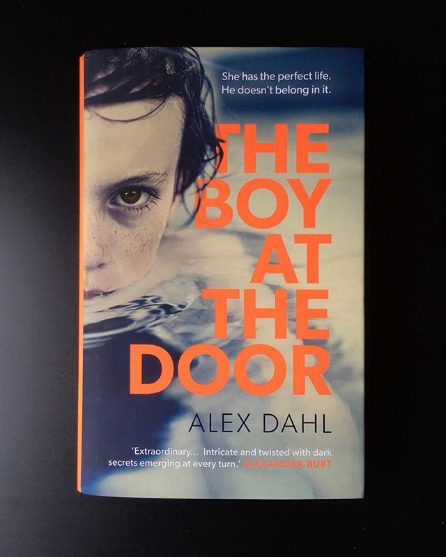 Boy Fluoro ✴️ #theboyatthedoor #alexdahl #bookstagram #bookdesign #bookcoverdesign