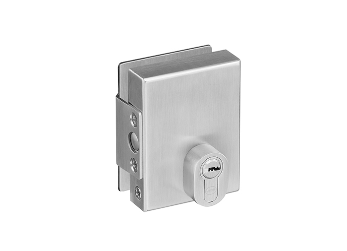 Glass Door Lock with Cylinder